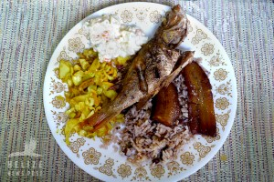 Belizean Fried Snapper