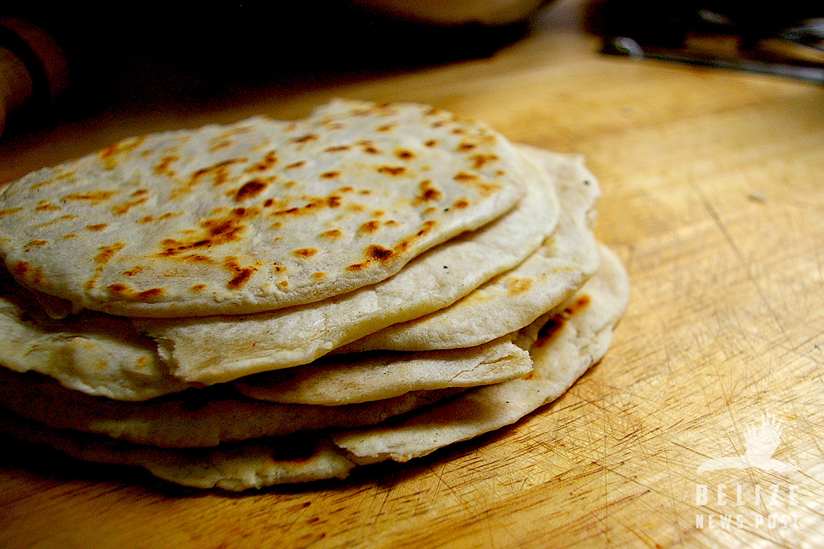 Homemade flour tortillas belize news post for Belizean style house plans