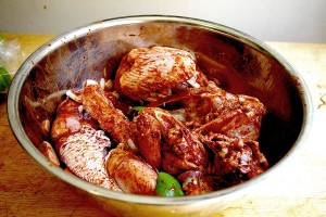 BBQ Chicken - Marinading Chicken