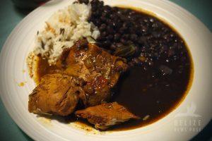 Stewed Chicken Plate