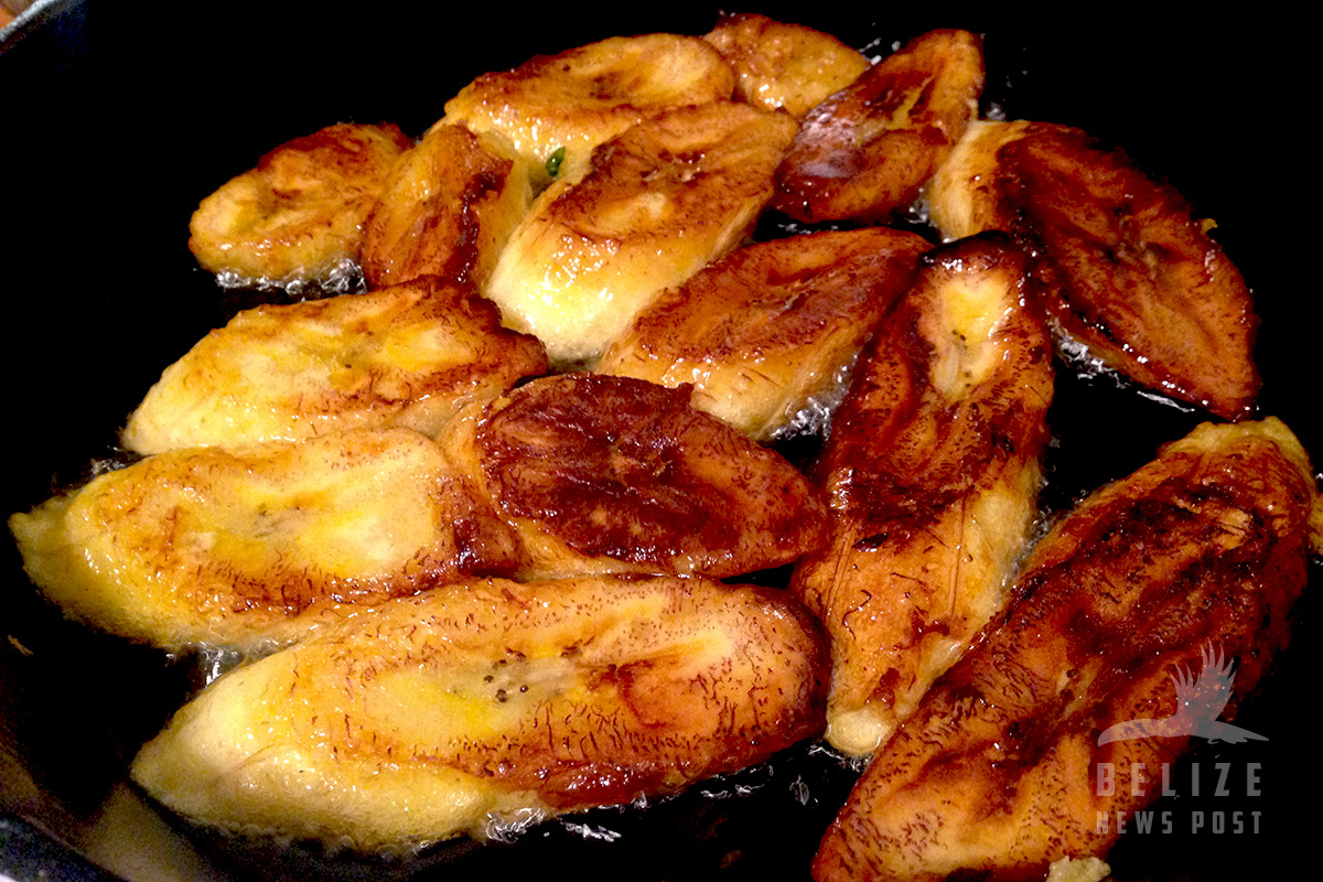Belize News Post Fried Plantain