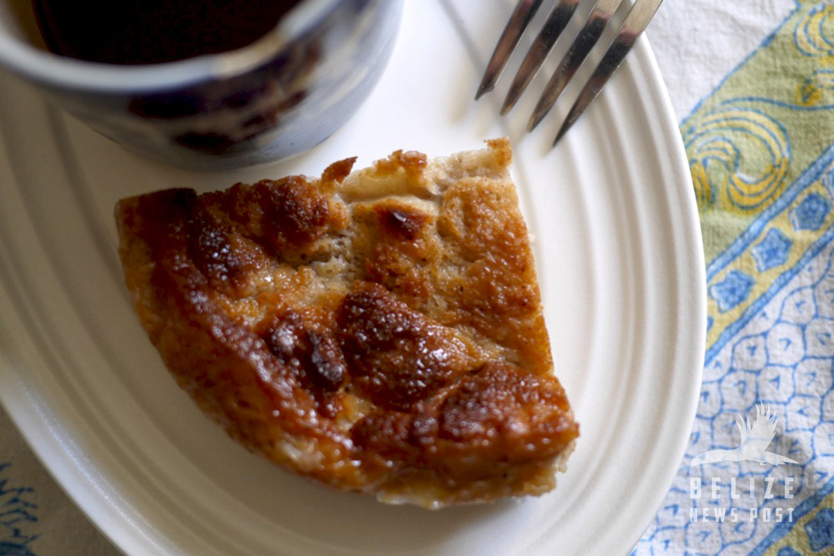 Belizean Bread Pudding
